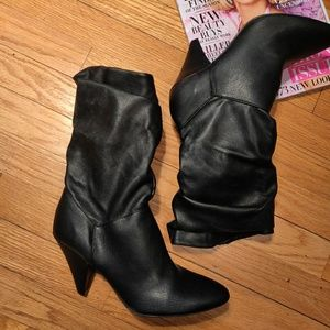 Slouch ankle boot